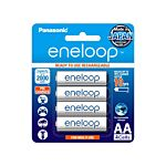Panasonic Eneloop AAA Rechargeable NiMH Battery (800mAh, 4-Pack)