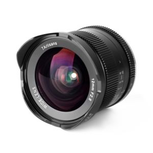 7artisans 12mm f/2.8 Lens - Sony E / Black