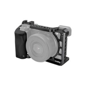 SmallRig 3164 Cage with Silicone Handle for Sony a6100 / a6300 / a6400