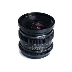 SLR Magic CINE 18mm F2.8 Lens / Sony E